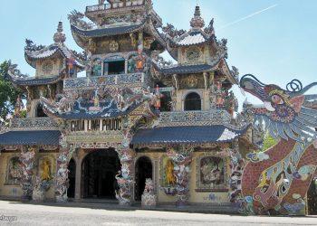 Da Lat - Linh Phuoc Pagoda